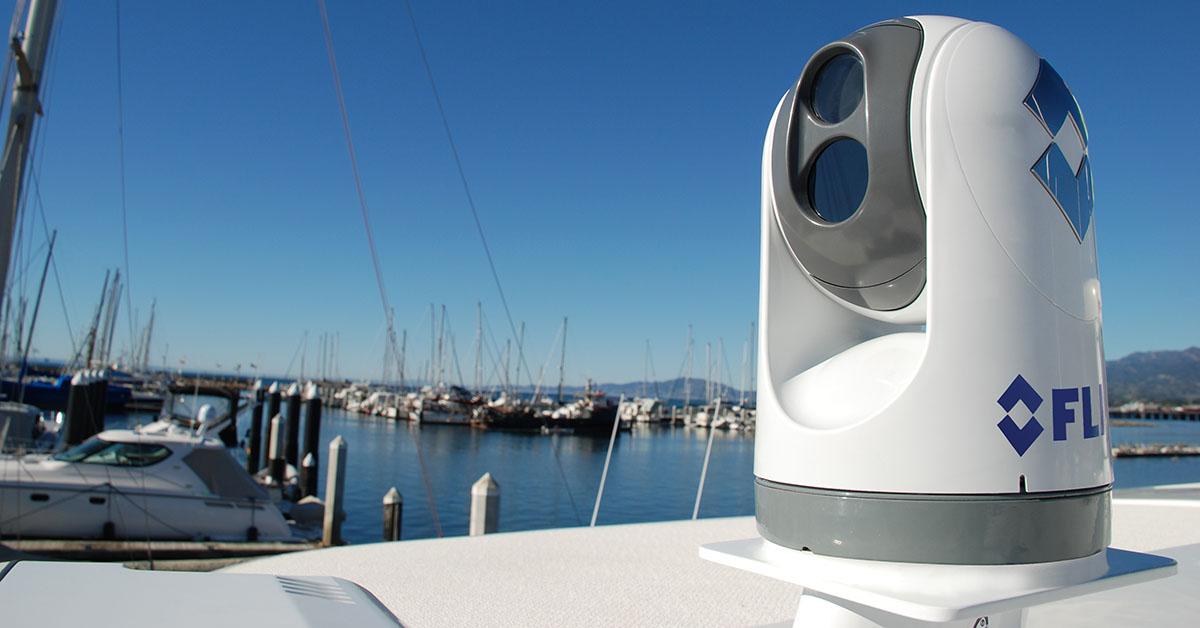 Доставка морских тепловизорных камер из Нидерландов